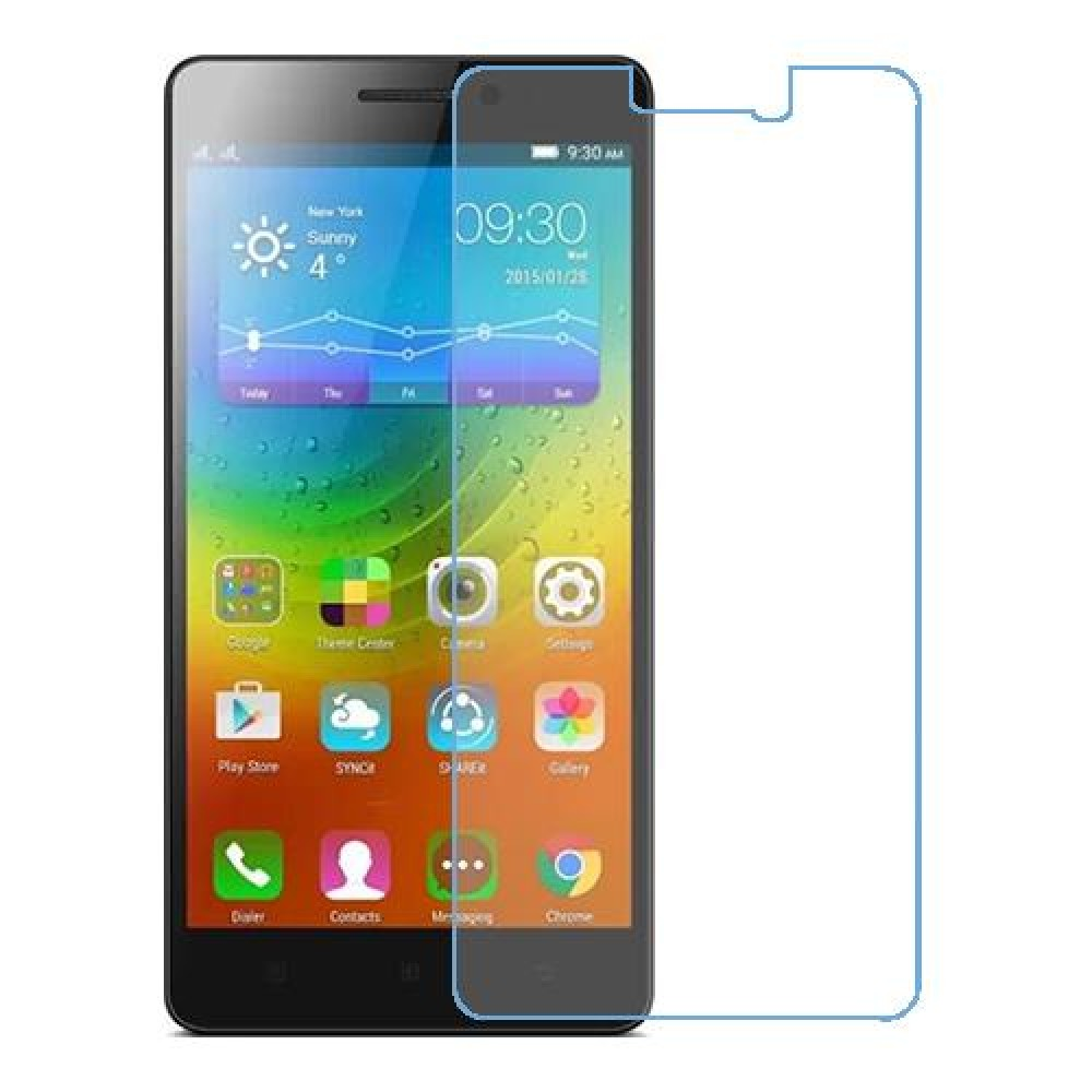 Lenovo A7000 Turbo One unit nano Glass 9H screen protector Screen Mobile