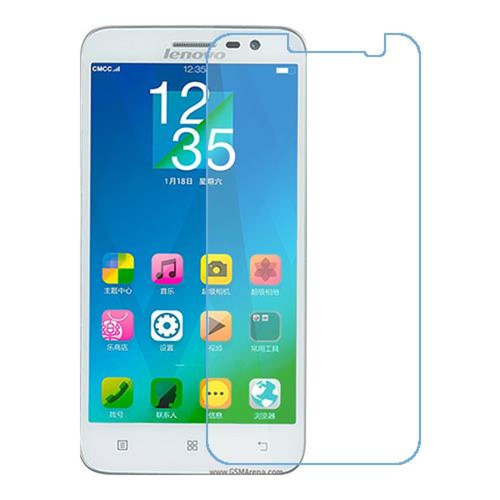 Lenovo Golden Warrior A8 One unit nano Glass 9H screen protector Screen Mobile