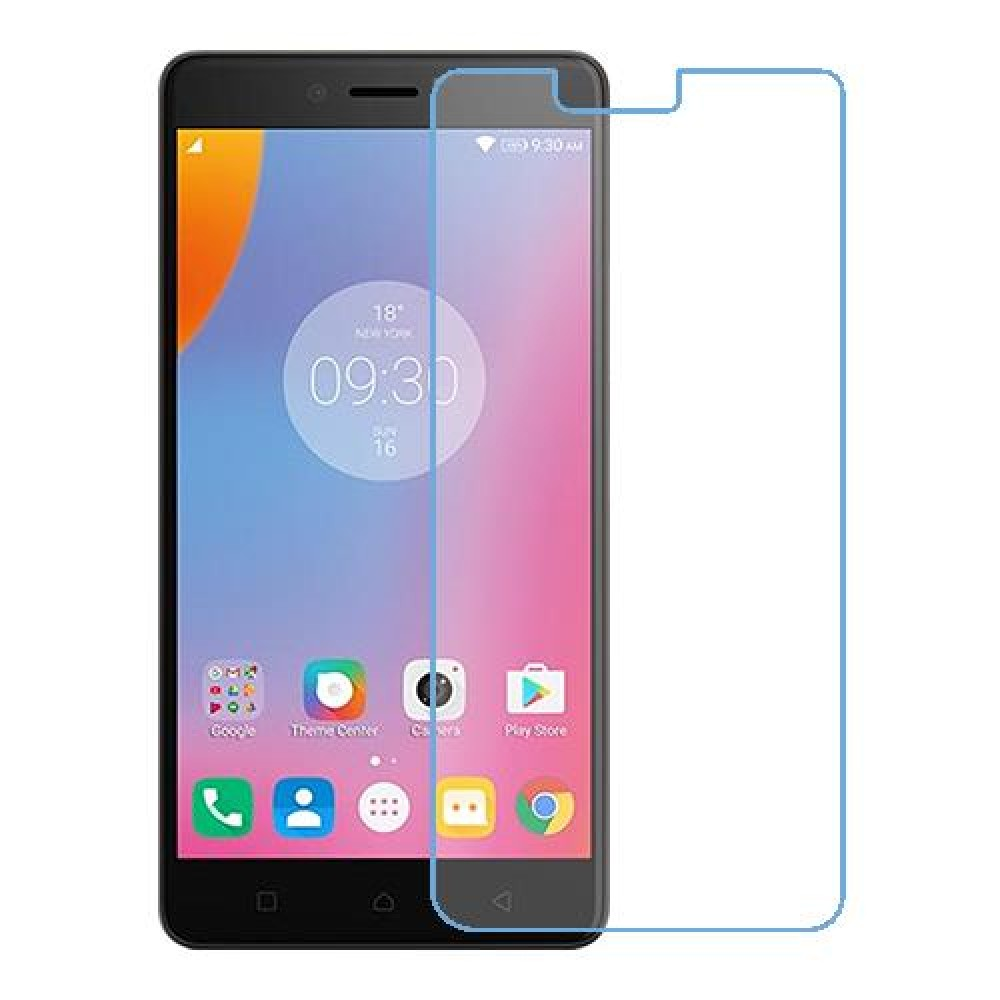 Lenovo K6 Note One unit nano Glass 9H screen protector Screen Mobile