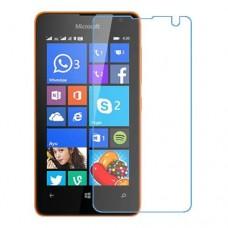 Microsoft Lumia 430 Dual SIM One unit nano Glass 9H screen protector Screen Mobile