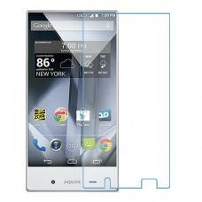 Sharp Aquos Crystal One unit nano Glass 9H screen protector Screen Mobile