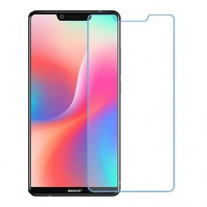 Sharp Aquos S3 High One unit nano Glass 9H screen protector Screen Mobile
