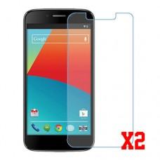 Maxwest Gravity 5 LTE nano Glass 9H screen protector two units Screen Mobile