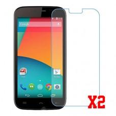 Maxwest Nitro 55 LTE nano Glass 9H screen protector two units Screen Mobile