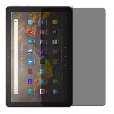 Amazon Fire HD 10 (2021) Screen Protector Hydrogel Privacy (Silicone) One Unit Screen Mobile